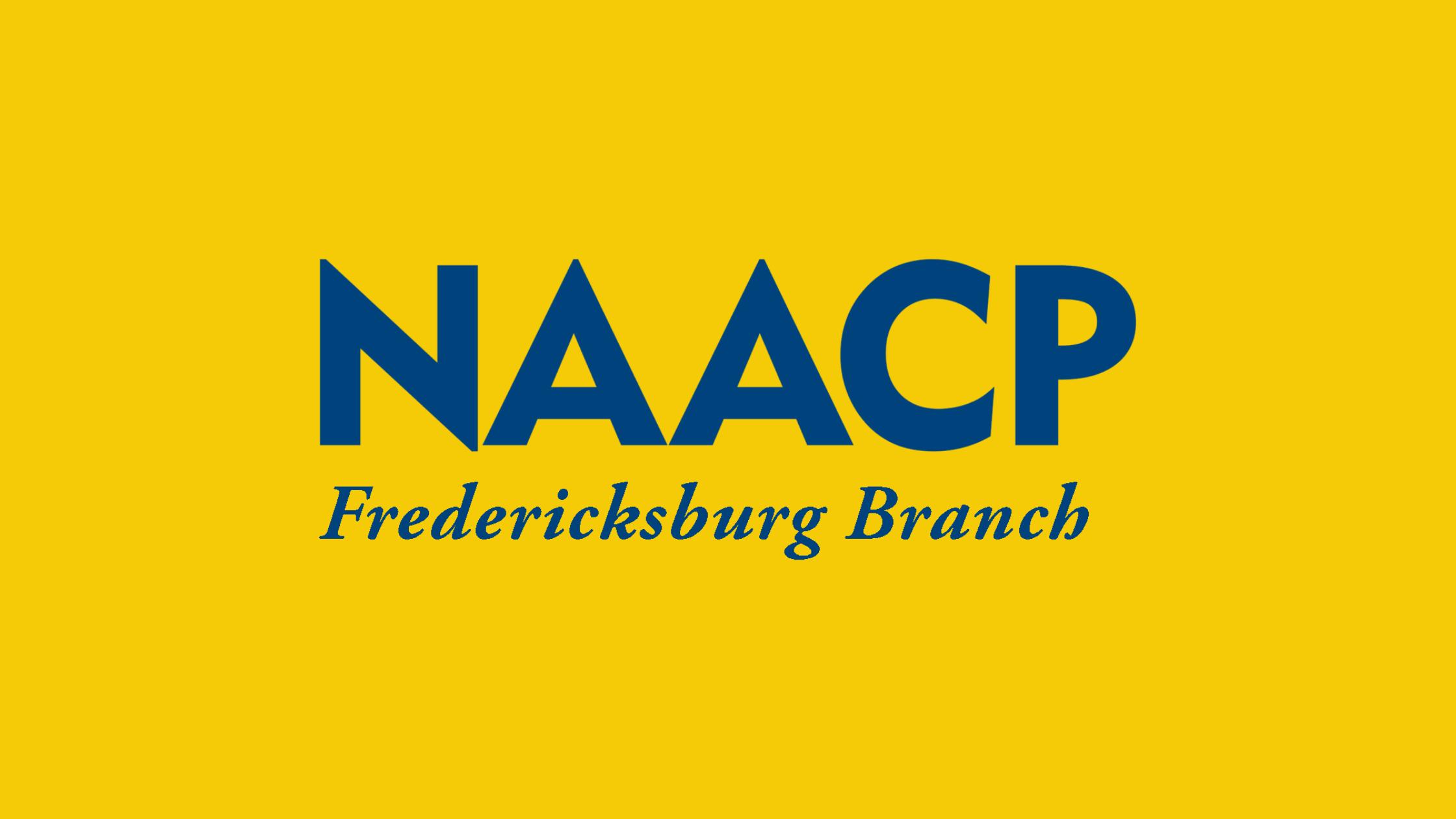 Fredericksburg NAACP News Banner